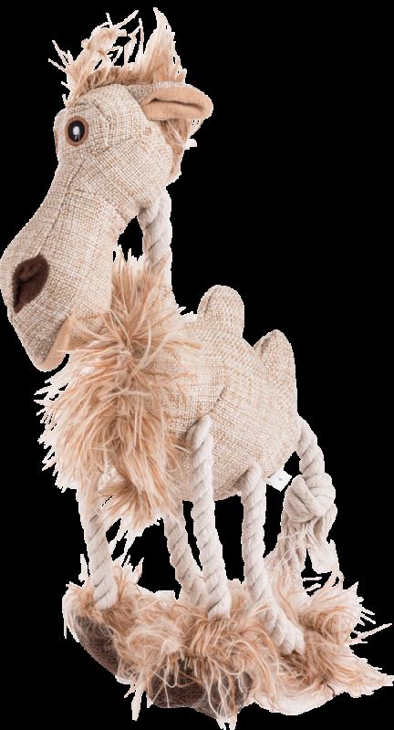 Trixie | Kamel, Langhaarplüsch