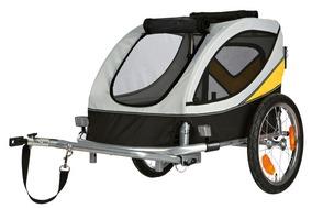 Trixie   Fahrrad-Anhänger grau/schwarz/gelb
