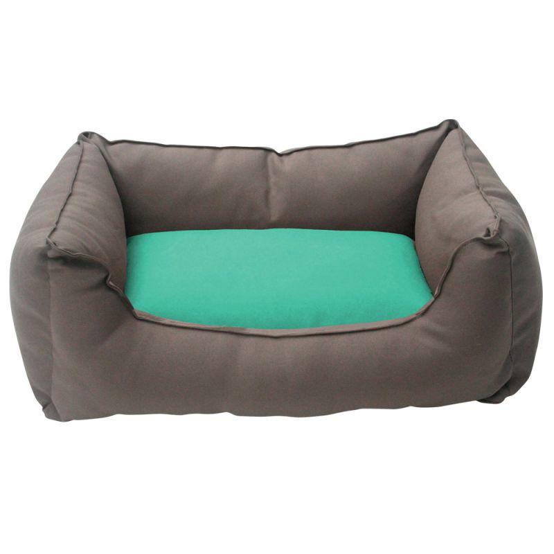 Wolters | Basic Dog Lounge mocca/mint