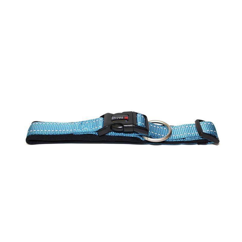 Wolters | Halsband Soft & Safe reflektierend aqua/schwarz