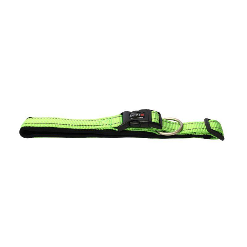 Wolters | Halsband Soft & Safe reflektierend lime/schwarz