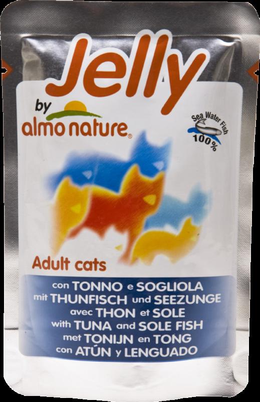 Almo Nature   Jelly Thunfisch und Seezunge