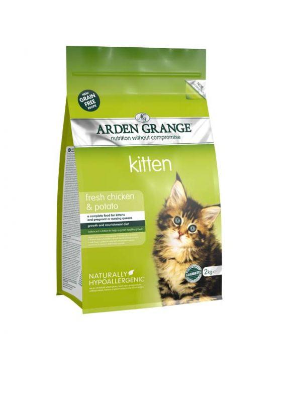 Arden Grange   Kitten Chicken & Potato