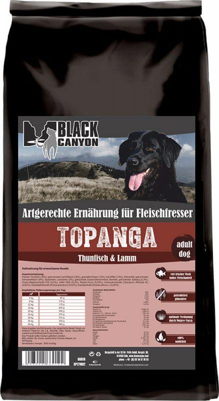 Black Canyon   Topanga mit Thunfisch & Lamm