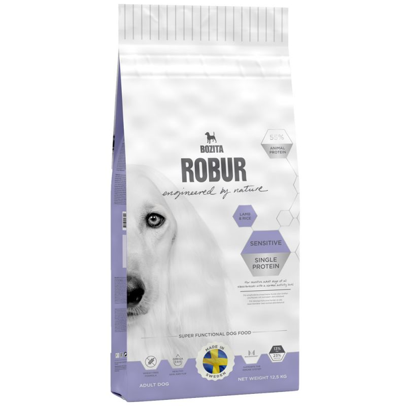 Bozita   Robur Sensitive Single Protein Lamb & Rice