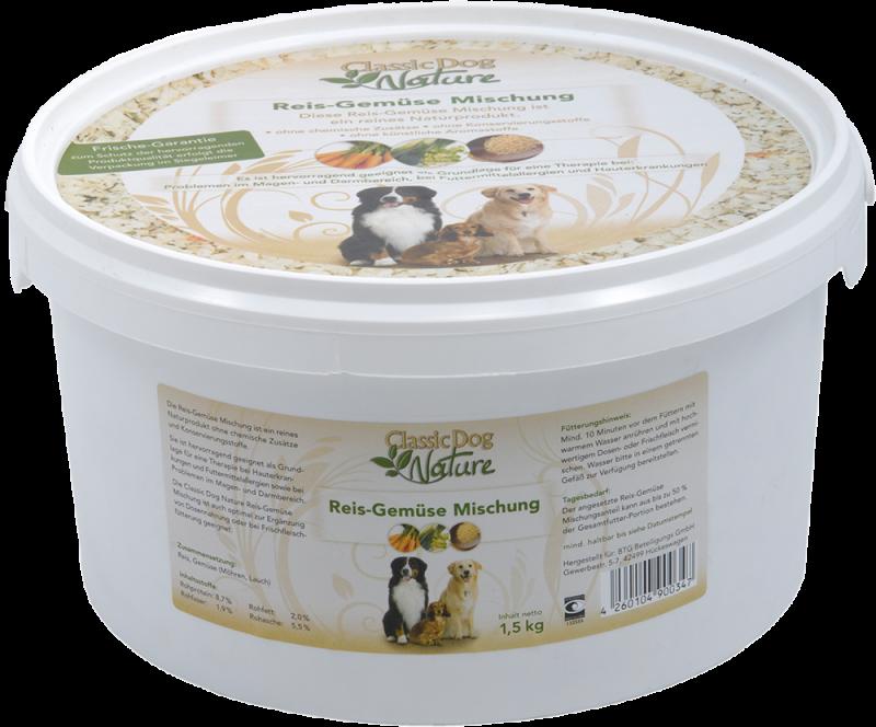 Classic Dog | Nature Reis-Gemüse Mischung
