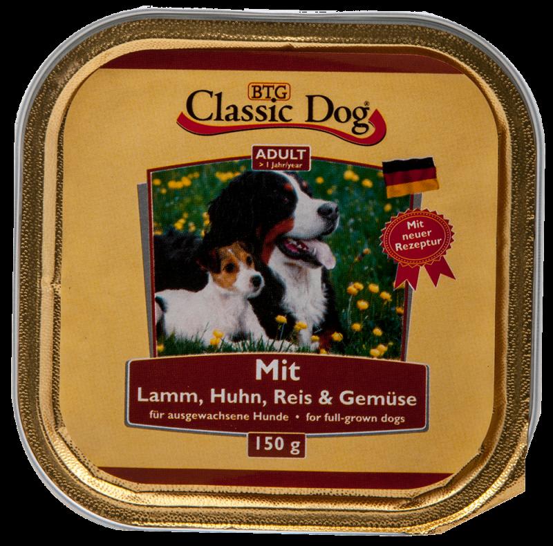 Classic Dog | Schale Lamm, Huhn, Reis & Gemüse