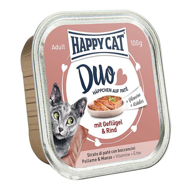 Happy Cat | Duo Geflügel und Rind