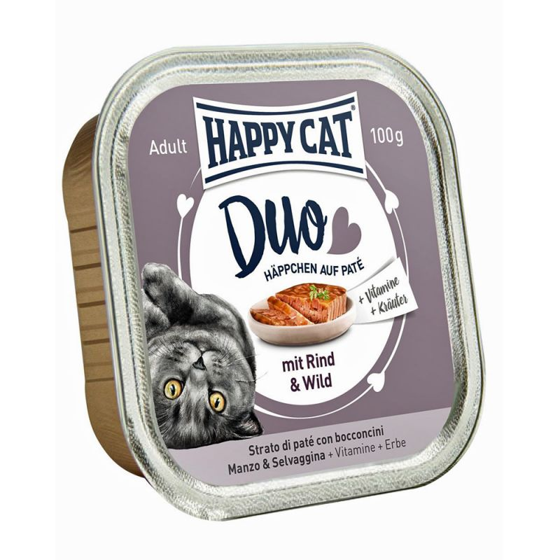 Happy Cat | Duo Rind und Wild
