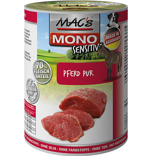 MACs | Mono Sensitive Pferd Pur