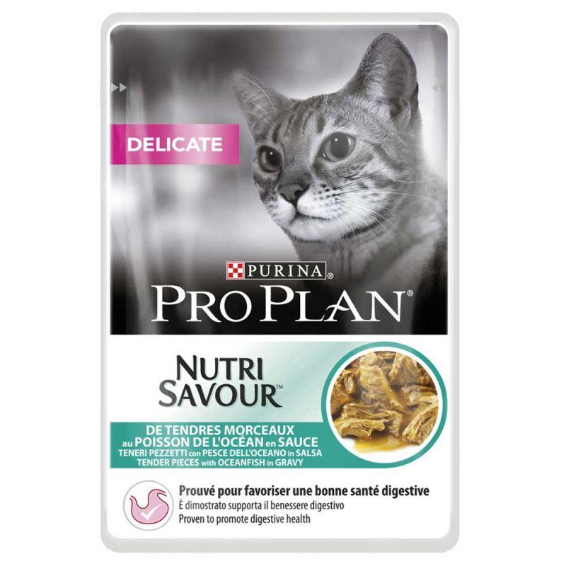 Pro Plan   Cat Nutri Savour Delicate Ozeanfisch