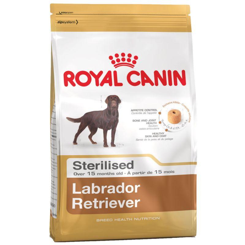 Royal Canin | Breed Labrador Retriever Adult Sterilised Trockenfutter für kastrierte Hunde