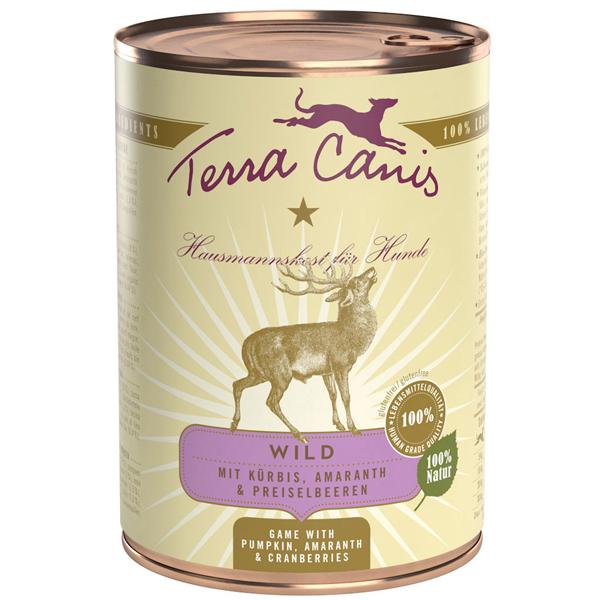 Terra Canis   Wild mit Kürbis, Preiselbeeren & Amaranth