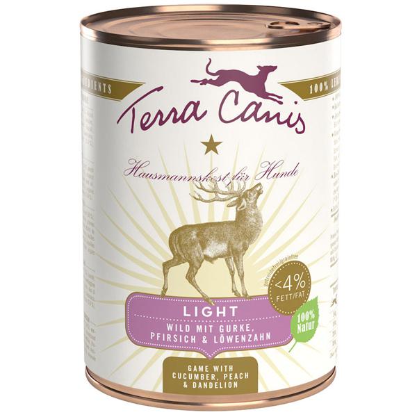 Terra Canis | Wild Light mit Gurke, Pfirsich und Löwenzahn