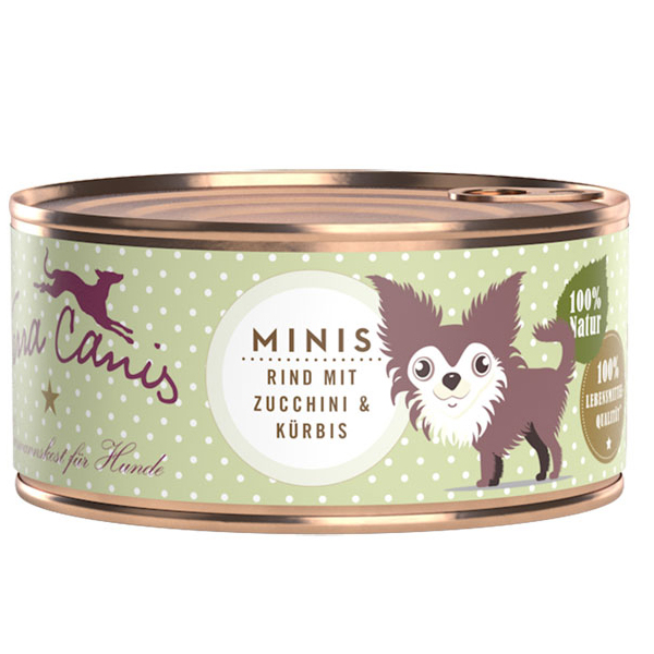 Terra Canis | Minis Rind mit Zucchini & Kürbis