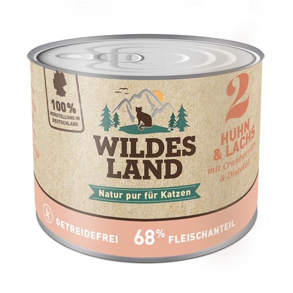 Wildes Land | Nr. 2 Huhn und Lachs