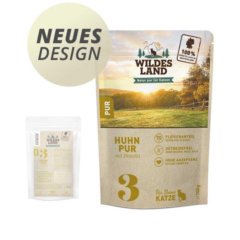 Wildes Land | Nr. 3 Huhn PUR