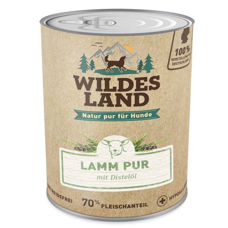 Wildes Land | Lamm PUR mit Distelöl