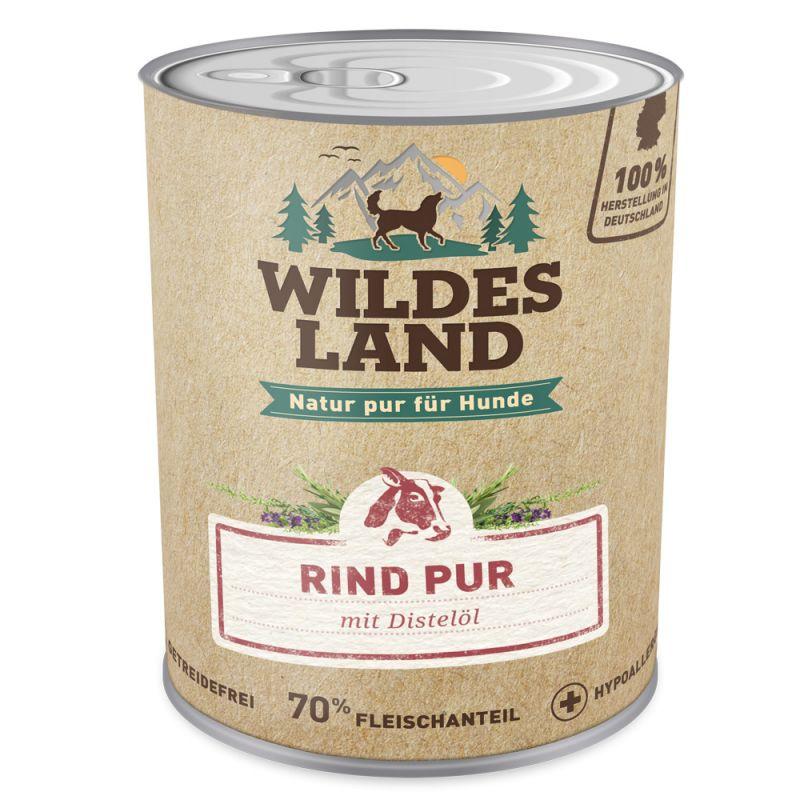 Wildes Land   Rind PUR mit Distelöl