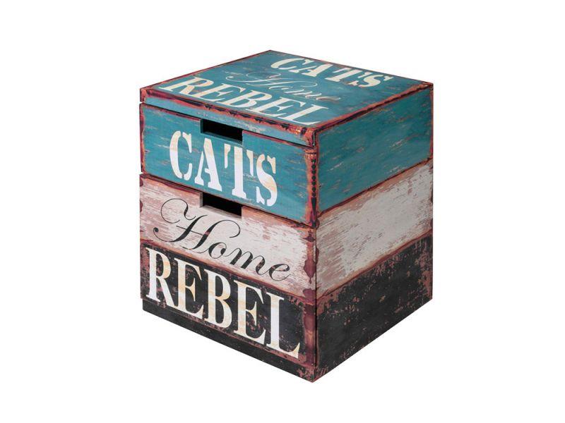 Europet Bernina | Cat Box Rebel bunt