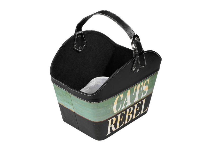 Europet Bernina | D&D Cat Basket Rebel schwarz