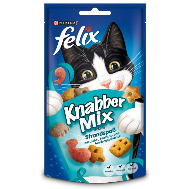Felix | KnabberMix Strandspaß | Fisch,Drops & Leckerli 1