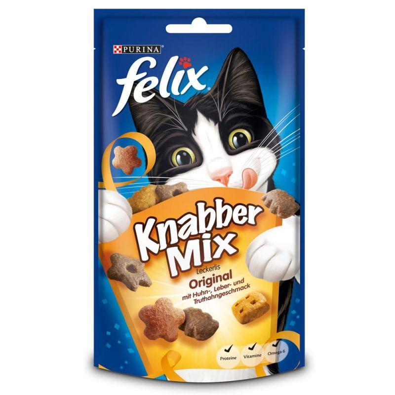 Felix | KnabberMix Original | Geflügel,Drops & Leckerli 1