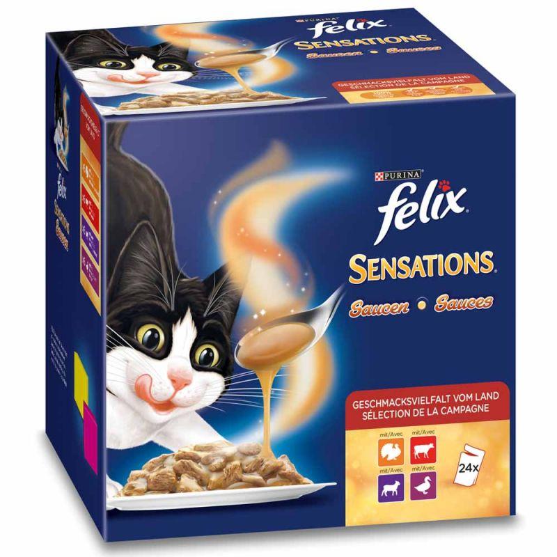 Felix | Sensations Saucen Surprise Multipack 24 x 100g