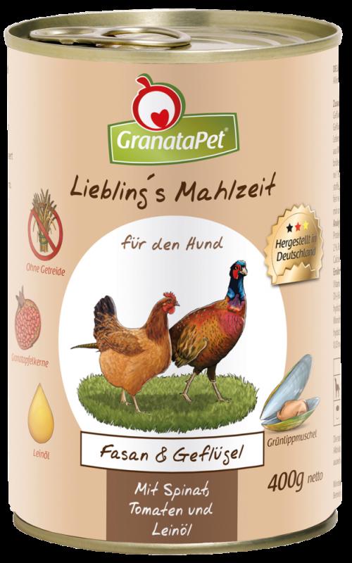 GranataPet   Liebling's Mahlzeit Fasan und Geflügel