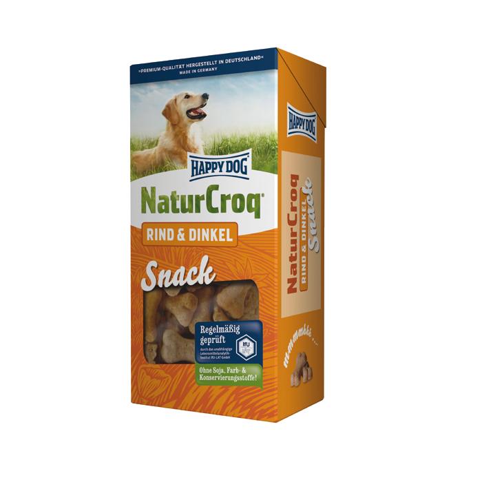 Happy Dog   Natur Snack Rind & Dinkel
