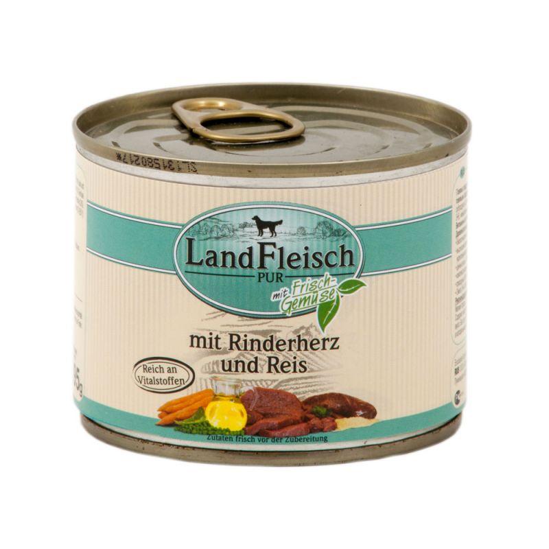 LandFleisch | Pur mit Rinderherz und Reis