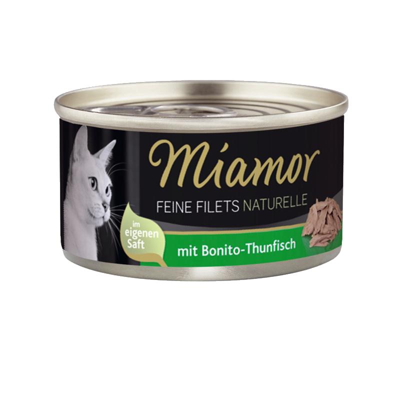 Miamor   Feine Filets Naturelle Bonito-Thunfisch