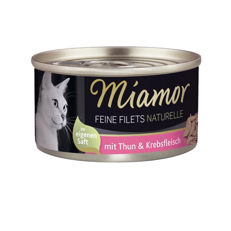 Miamor | Feine Filets Naturelle Thunfisch & Krebsfleisch