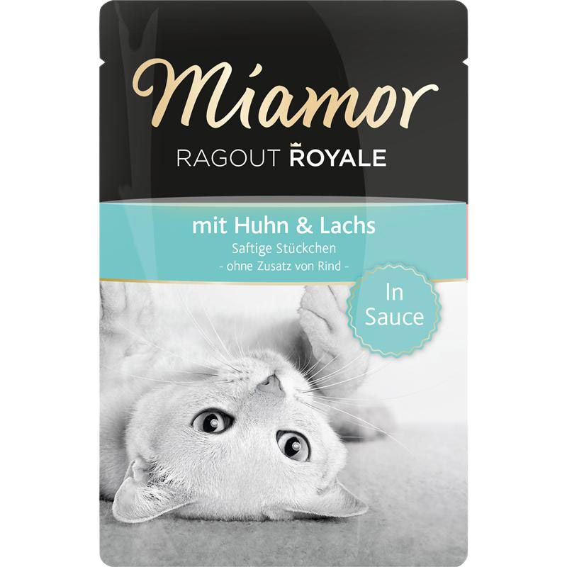 Miamor | Ragout Royale mit Huhn & Lachs