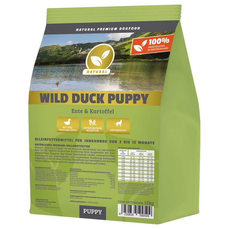 Hundeland Natural   Wild Duck Puppy