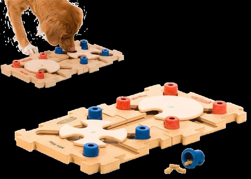 Nina Ottosson | Intelligenzspielzeug Mix Max Puzzle aus Holz Stufe C
