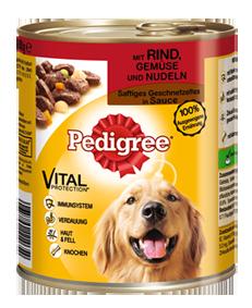 Pedigree | Adult mit Rind, Gemüse & Nudeln in Sauce