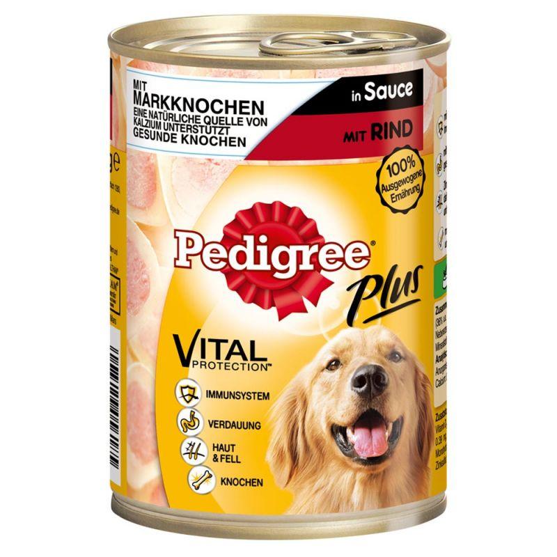 Pedigree | Adult Plus Markknochen mit Rind in Sauce