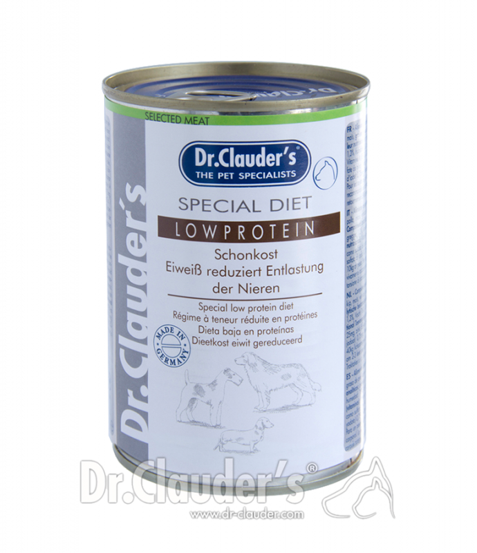 Dr. Clauder's | Selected Meat Special Diet Low Protein