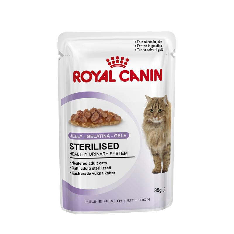 Royal Canin   Feline Health Nutrition Sterilised in Gelee