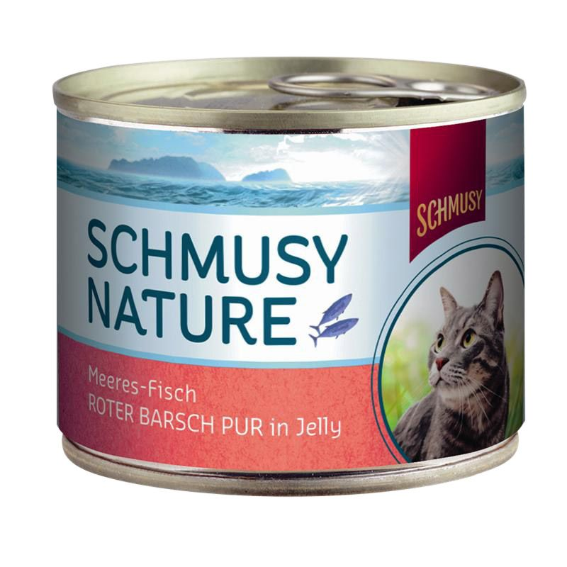 Schmusy | Nature Meeres Fisch Roter Barsch Pur in Jelly