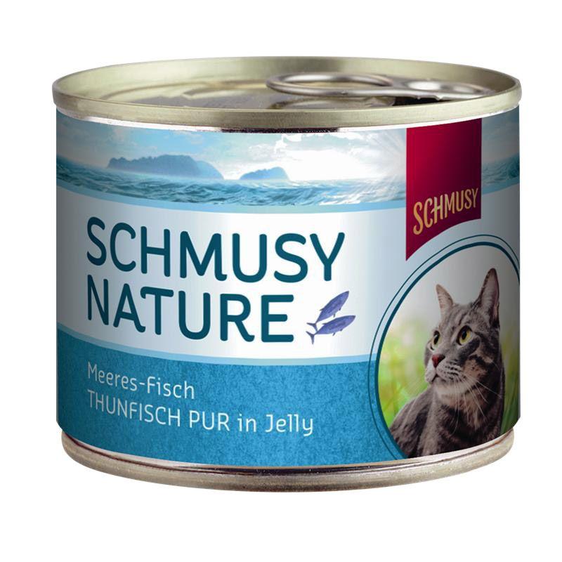 Schmusy | Nature Meeresfisch Thunfisch Pur in Jelly