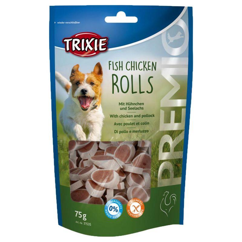 Trixie | Premio Rolls, Hühnchen und Seelachs