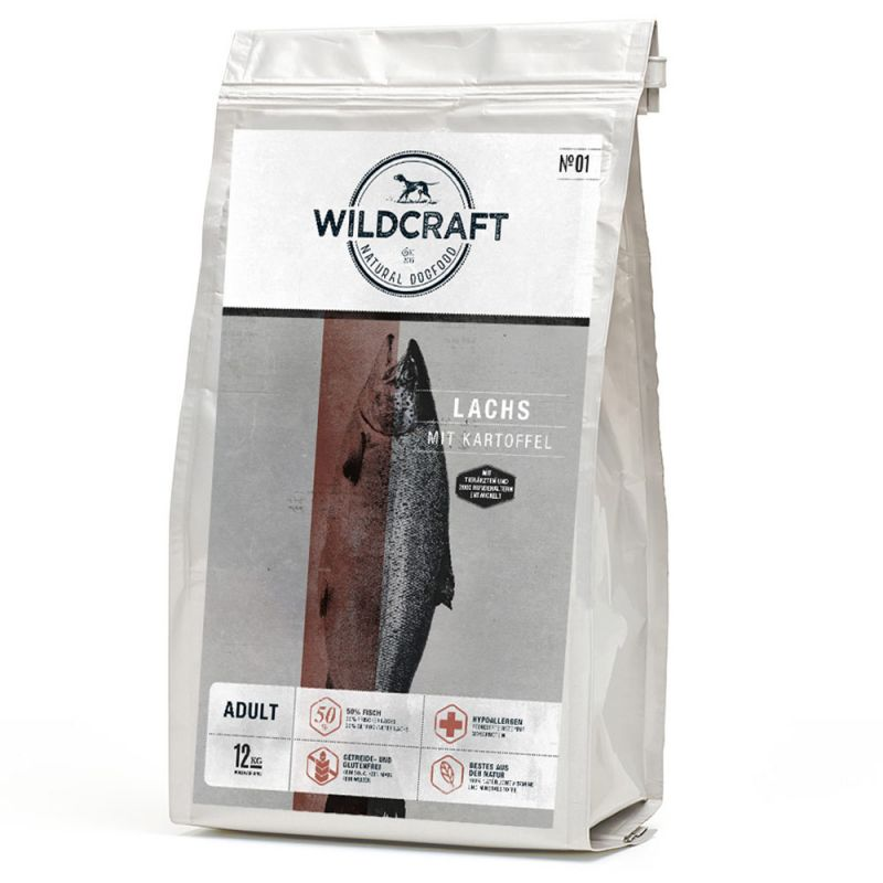 Wildcraft | Lachs mit Kartoffel | Fisch,Trockenfutter 1