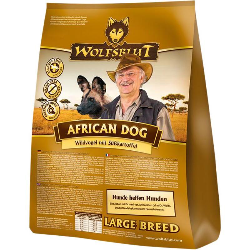 Wolfsblut | African Dog Wildvogel mit Süßkartoffel | Glutenfrei,Getreidefrei,Geflügel,Exoten 1