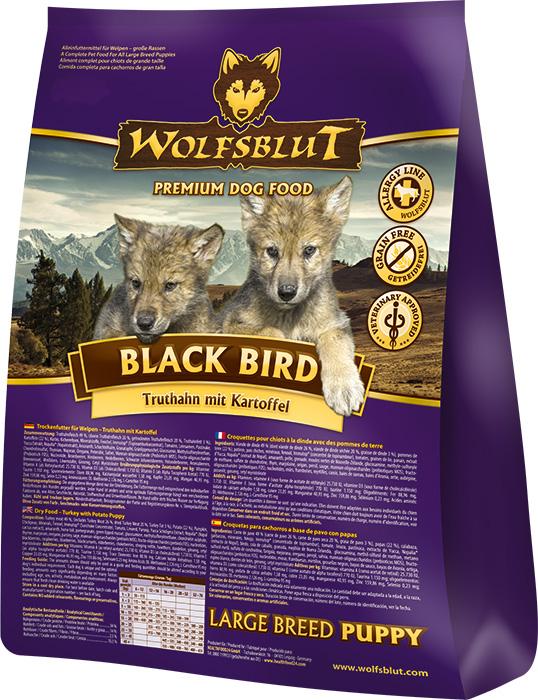 Wolfsblut   Black Bird Puppy Large   Geflügel,Trockenfutter 1