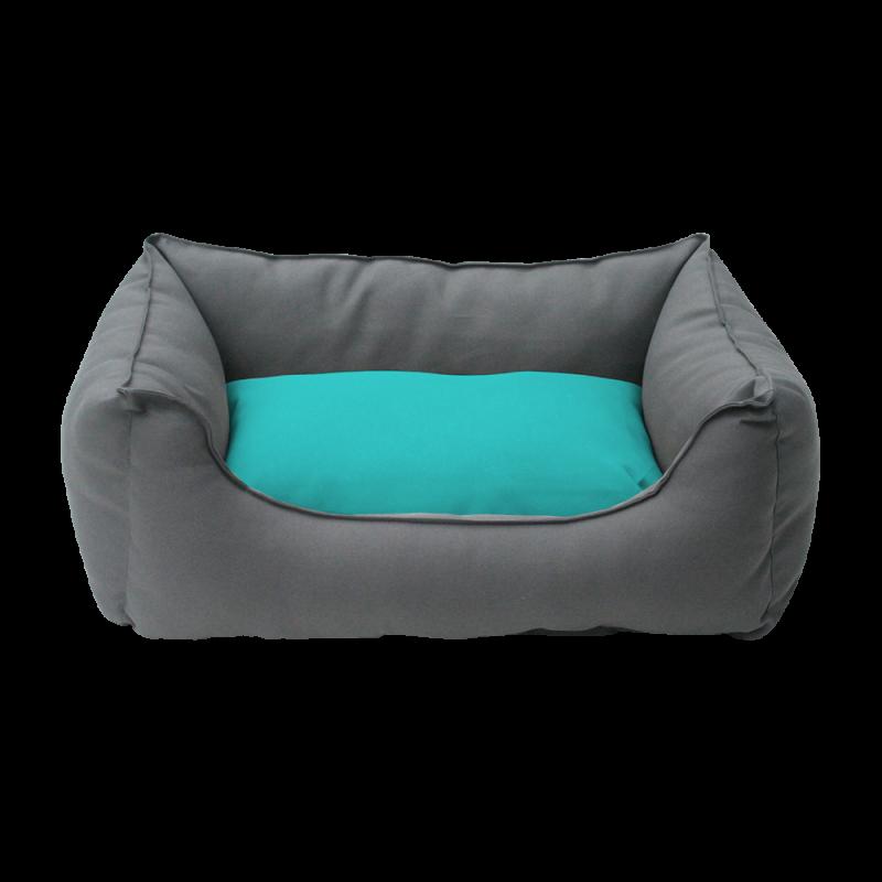 Wolters | Basic Dog Lounge anthrazit/aqua
