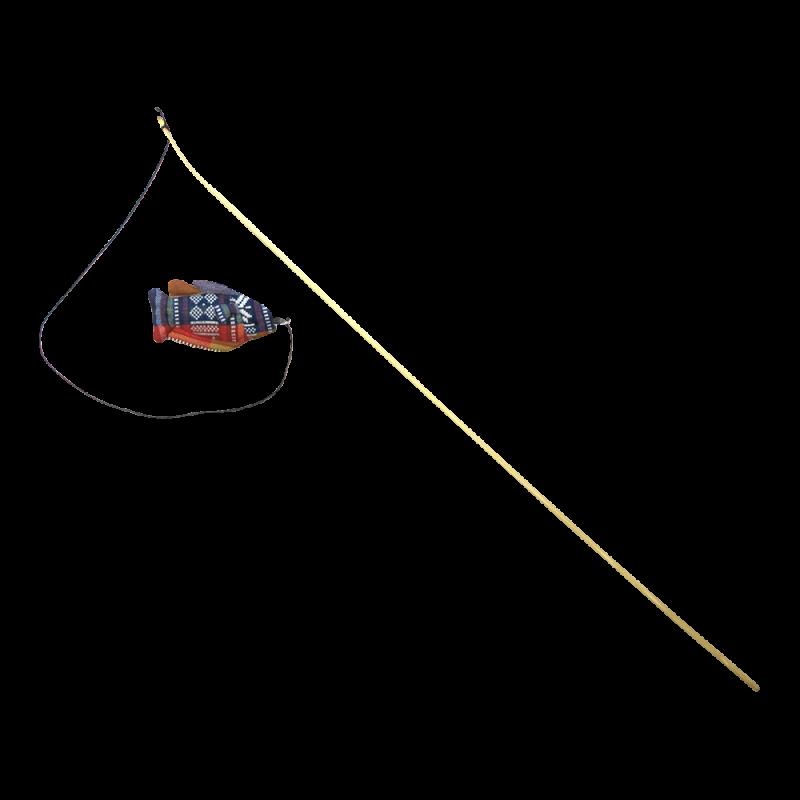 Wolters | Katzenspaß Spielangel Fisch