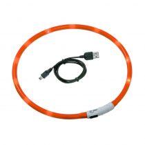 Karlie | Leuchthalsband Visio Light Orange | Orange