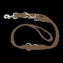 Wolters | Führleine Basic Standard in Nougat